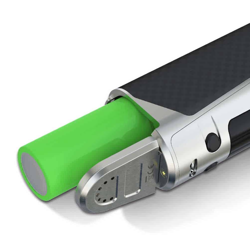 Des e-cigarettes fonctionnent en simple accus