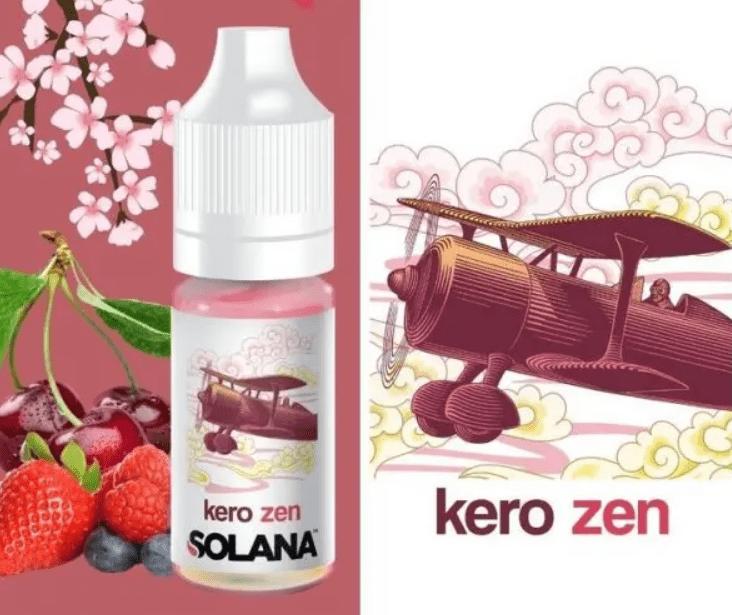 Le e-liquide premium Kero Zen